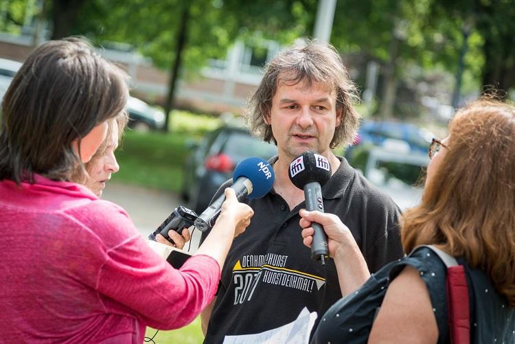Bernd Demandt - Initiator und Veranstalter des Festivals Denkmal! Kunst Kunst Denkmal!
