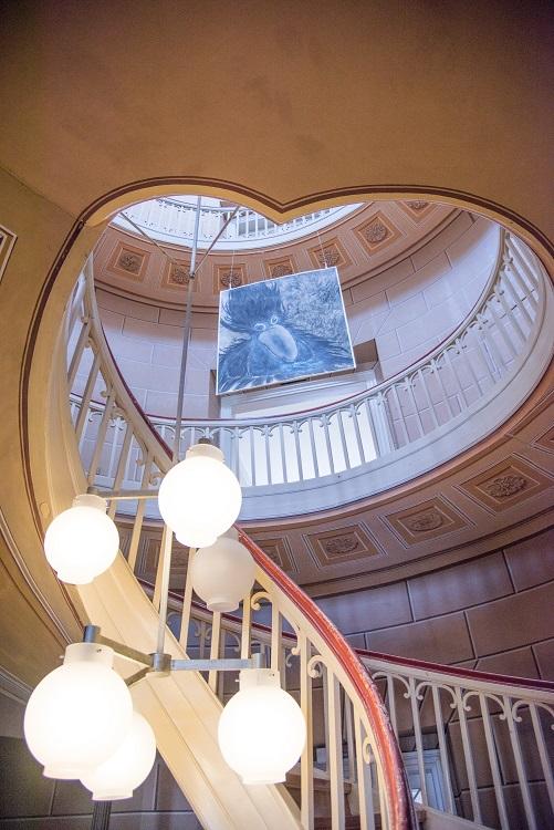 Das herrschaftliche Treppenhaus in der Schachtrupp-Villa in Osterode